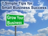 7 Tips for Small Business Success