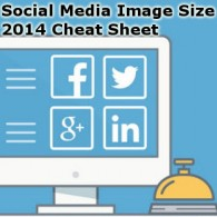 Social Media Image Size Cheat Cheat Sheet 2014