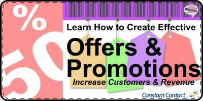 Learn How to Create Offers and Promotions to Grow Revenue and Customers