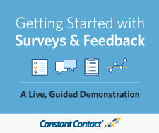 Getting Started with Constant Contact Surveys and Feedback