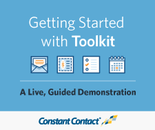Getting Started with Constant Contact Toolkit