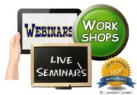 Webinars, Seminars, and Workshops.