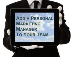 Add a Personal Marketing Manger to Your Team